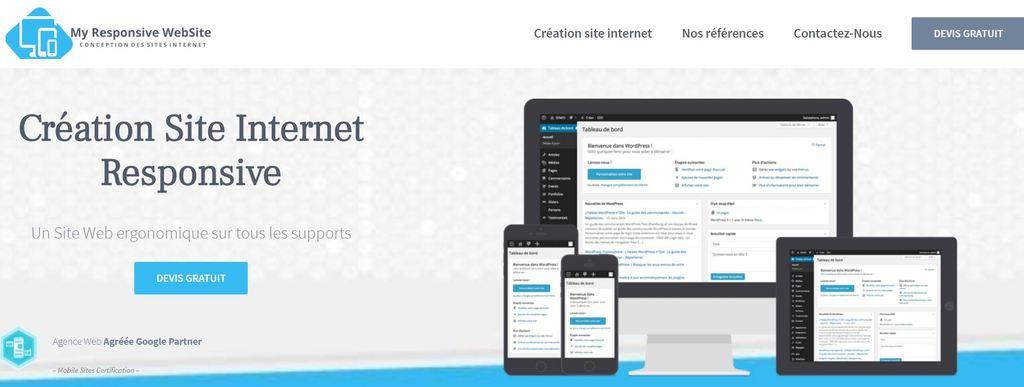 My Responsive Website Agence