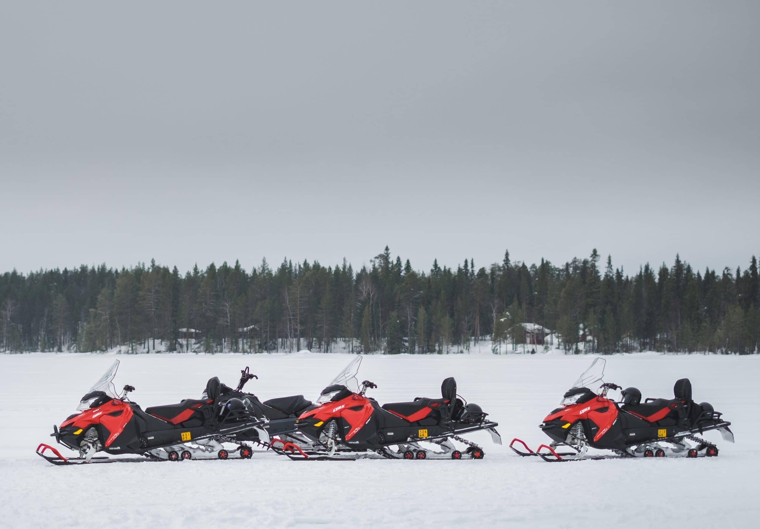 moto neige team building