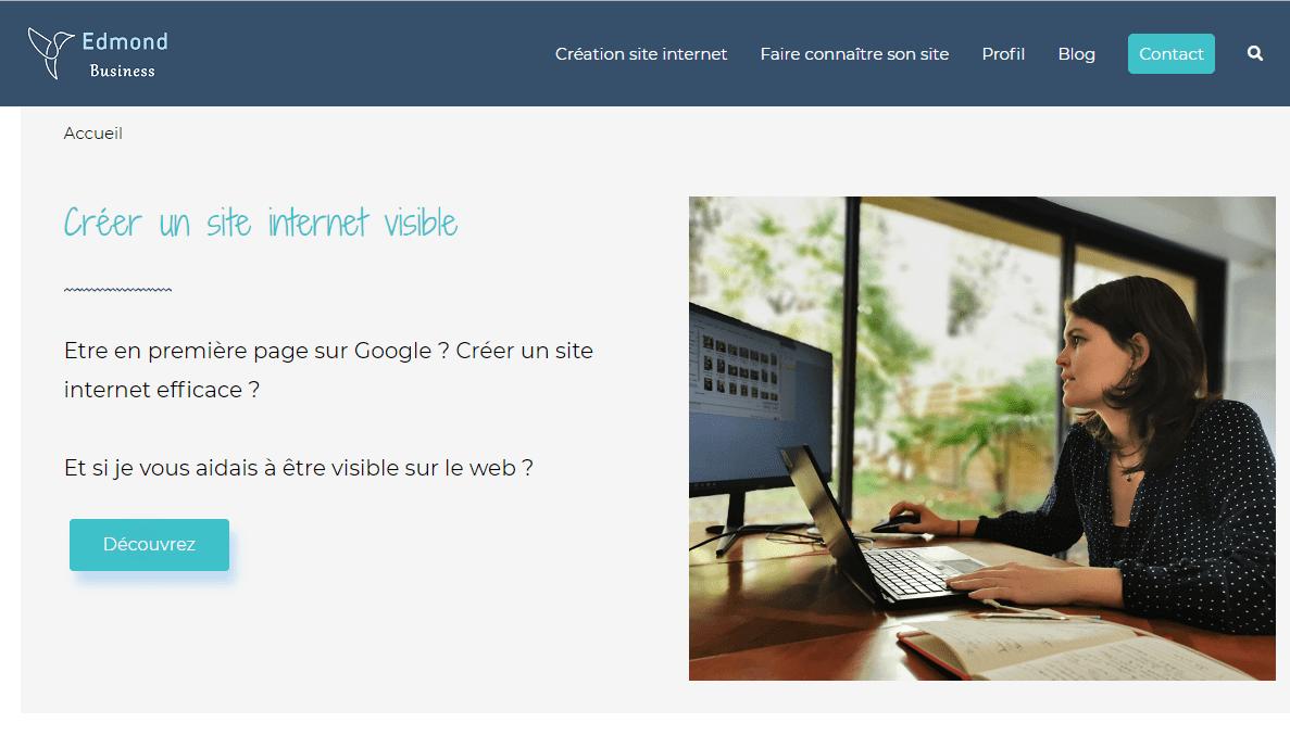 Edmond_Business_creation_site_internet_pau