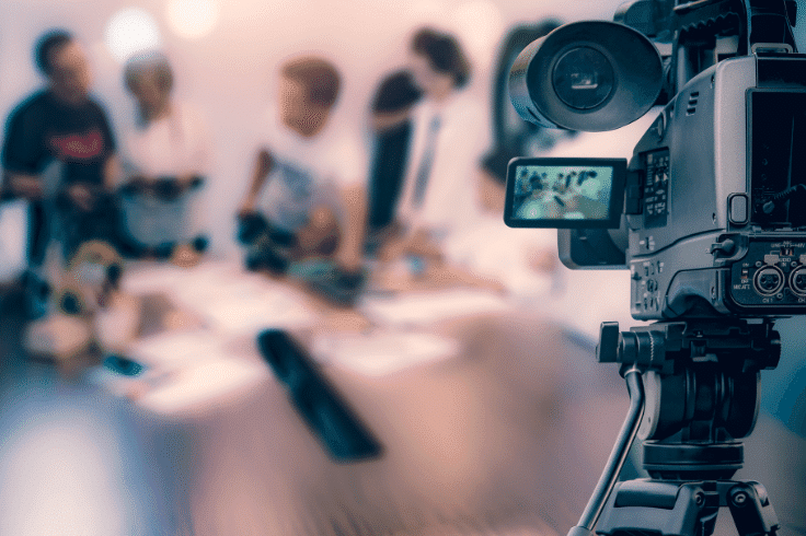 étapes réalisation vidéo