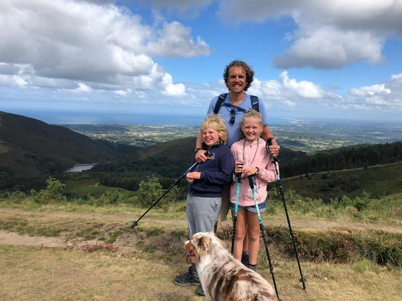 Famille au pays basque